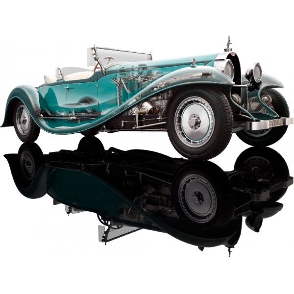 BUGATTI ESDERS ROADSTER 1932 GREEN