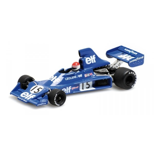TYRRELL FORD 007 M. LECLERE 1975