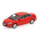 OPEL ASTRA 4 DOOR 2012 RED