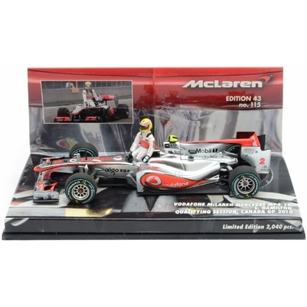 McLAREN MERCEDES MP4/25 L. HAMILTON WINNER GP CANADA 2010
