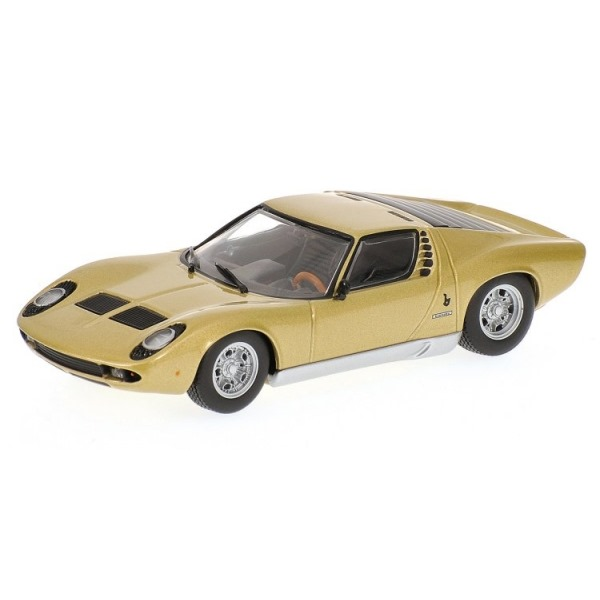 Buy Official Lamborghini Miura S 1969 Gold Lamborghini Museum