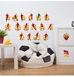 AS Roma Wall Stickers 304835