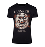 GUINNESS Male Dog's Head Bottling T-Shirt, Extra Extra Large, Black