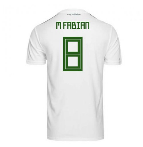 2018-2019 Mexico Away Adidas Football Shirt (M Fabian 8)