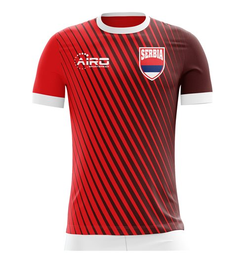 2018-2019 Serbia Home Concept Football Shirt (Kids)