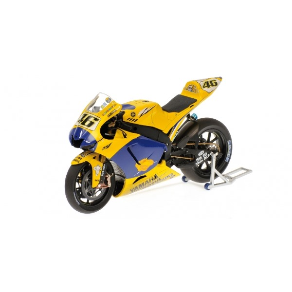 YAMAHA YZR-M1 VALENTINO ROSSI END OF THE RACE VERSION 2006