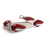 DELAHAYE TYPE 135-M CABRIOLET 1937 WHITE & RED