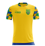 2018-2019 Brazil Home Concept Football Shirt (Kids)