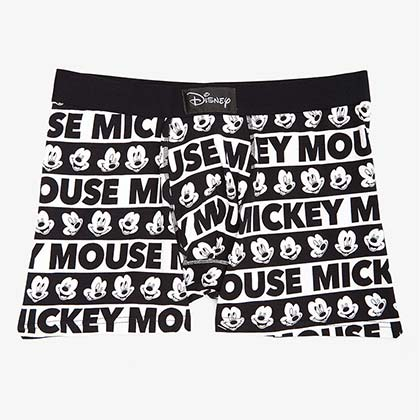Mickey Mouse Faces All Over Print Men's Boxer Briefs