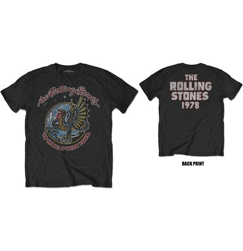 The Rolling Stones Men's Tee: Dragon '78