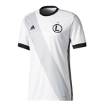 2018-2019 Legia Warsaw Adidas Home Football Shirt