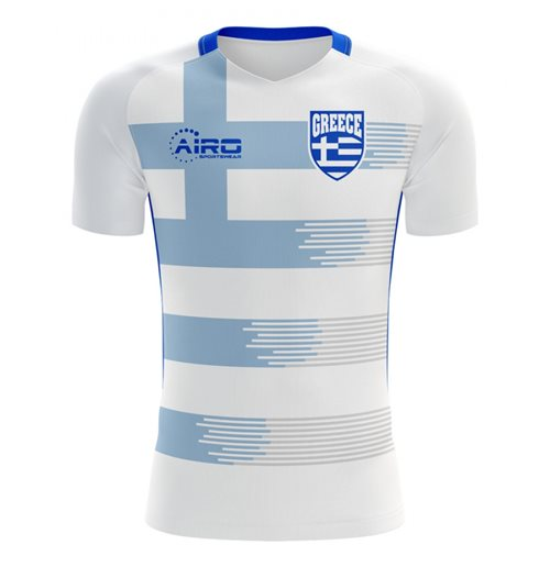 2018-2019 Greece Home Concept Football Shirt (Kids)