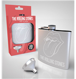 Rolling Stones Hip Flask Logo
