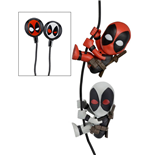 Marvel Comics Scalers Figures 2-Pack Deadpool & X-Force with Earbuds