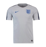 2018-2019 England Nike Training Shirt (Grey)