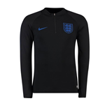 2018-2019 England Nike Training Drill Top (Black) - Kids