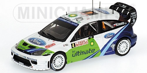 FORD FOCUS RS WRC KRESTA RALLY MONTE CARLO 2005