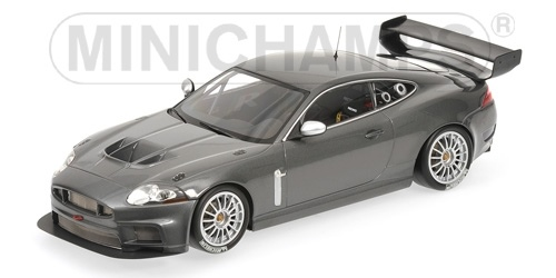 JAGUAR XKR GT3 GREY METALLIC 2008