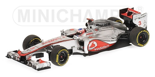 McLAREN MERCEDES MP4-27 J. BUTTON 2012