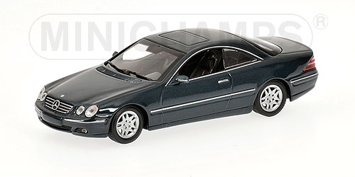 MERCEDES BENZ CL CLASS COUPE' C215 GREEN METALLIC 1999