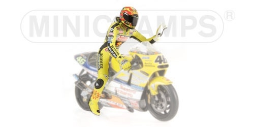 PILOTA VALENTINO ROSSI WORLD CHAMPION 2001