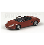 PORSCHE BOXSTER 2002 RED METALLIC