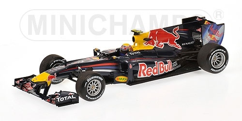 RED BULL RB6 MARK WEBBER 2010