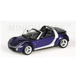 SMART ROADSTER CABRIO 2002 BLUE METALLIC