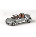 SMART ROADSTER 2003 CABRIO GREY METALLIC