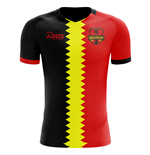 2018-2019 Belgium Flag Concept Football Shirt