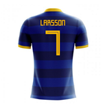 2018-2019 Sweden Airo Concept Away Shirt (Larsson 7)