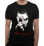 Batman The Dark Knight - Why So Serious - Unisex T-shirt Black