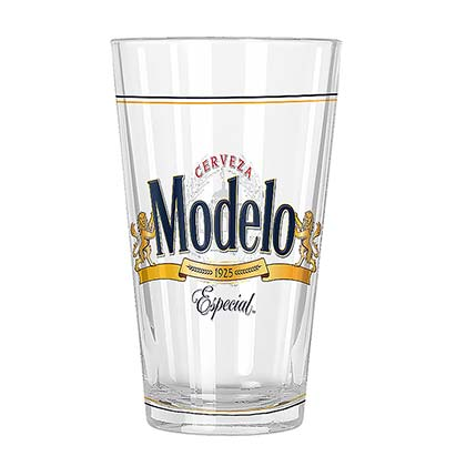 MODELO ESPECIAL Logo Pint Glass