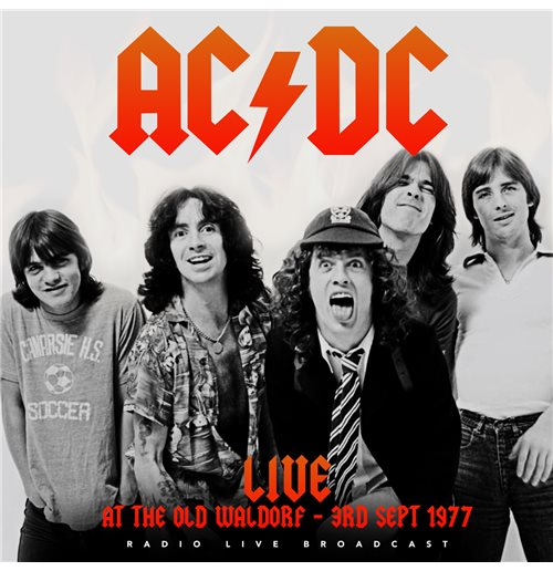 Vynil Ac/Dc - Best Of Live At The Waldorf, San Francisco September 3, 1977
