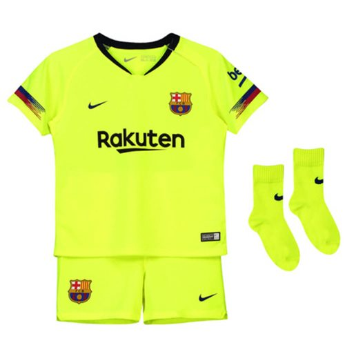 newest collection c798e fa52e 2018-2019 Barcelona Away Nike Baby Kit