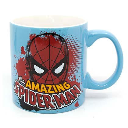 Marvel Spider-Man Amazing Light Blue 20oz Mug