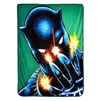 BLACK PANTHER Power Of Claws 40x60 Fleece Throw Blanket
