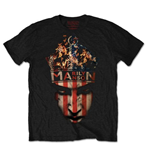 Marilyn Manson Men's Tee: Crown