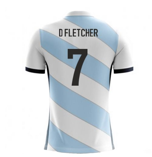 2018-19 Scotland Airo Concept Away Shirt (D Fletcher 7)