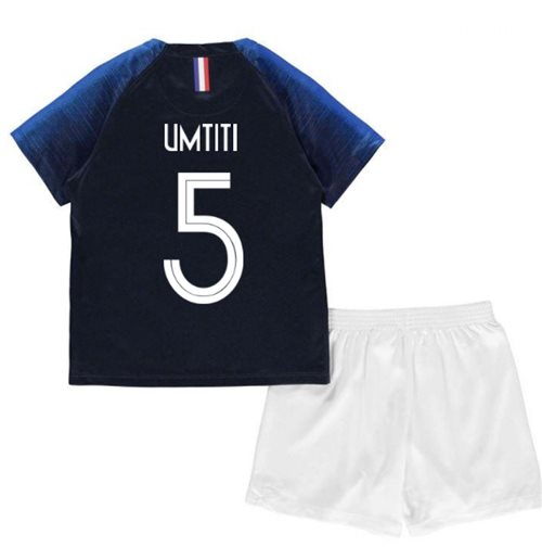 2018-2019 France Home Nike Mini Kit (Umtiti 5)