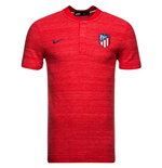 2018-2019 Atletico Madrid Nike Authentic Grand Slam Polo Shirt (Red)