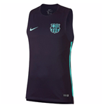 2018-2019 Barcelona Nike Sleeveless Training Shirt (Purple)