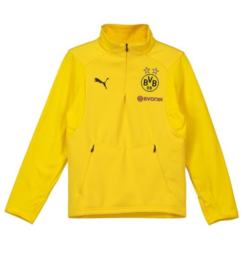2018-2019 Borussia Dortmund Puma Training Fleece (Yellow) - Kids