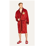Harry Potter Fleece Bathrobe Hogwarts Express Platform 9 & 3/4