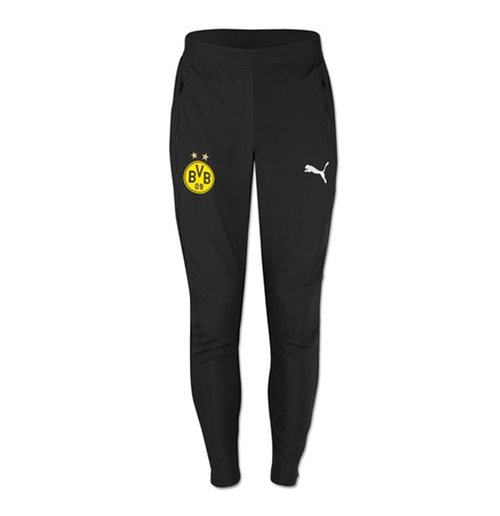 2018-2019 Borussia Dortmund Puma Leisure Pants (Black)