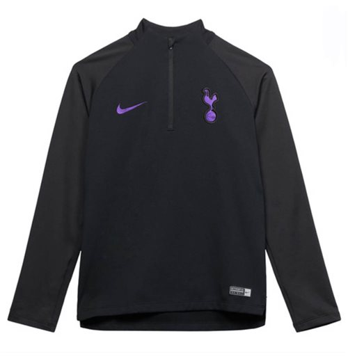 2018-2019 Tottenham Nike Drill Training Top (Black) - Kids