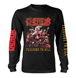 Kreator Long Sleeves T-shirt Pleasure To Kill