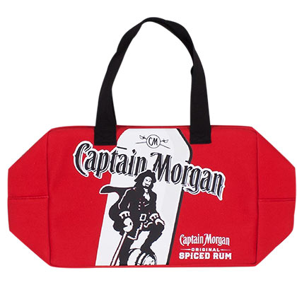 CAPTAIN MORGAN Treasure Chest Neoprene Drink Cooler Bag