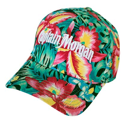 CAPTAIN MORGAN Floral Hibiscus Women's Hat