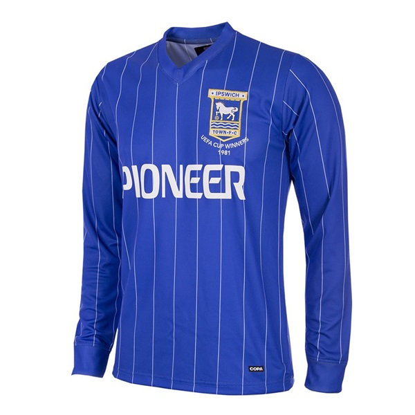 Ipswich Town FC 1981 - 82 Long Sleeve Retro Football Shirt